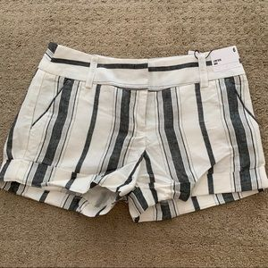 Express striped shorts